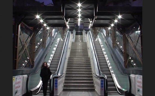 Inaugurate le nuove scale mobili di Via del Pomerio
