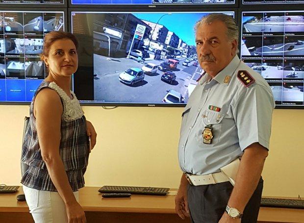 Visita alla Polizia Municipale dell'ass. Ingaldi