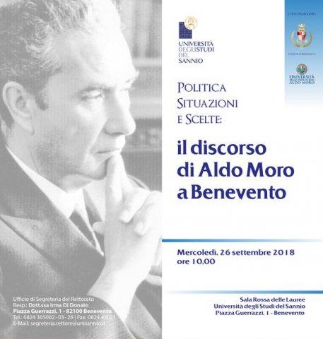 Politica Situazioni E Scelte Il Discorso Di Aldo Moro A Benevento