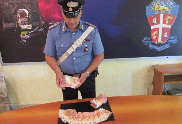 Telese. I carabinieri fermano 2 ragazzi con 50 mila euro falsi