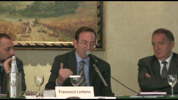 Il magistrato Francesco Lentano