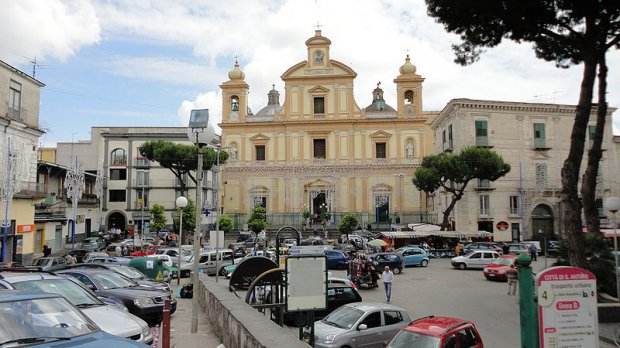 Sant'Antimo (Napoli) - By Sedicinoni (Own work) [CC BY-SA 3.0 (http://creativecommons.org/licenses/by-sa/3.0) or GFDL (http://www.gnu.org/copyleft/fdl.html)], via Wikimedia Commons