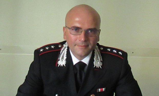 capitano Falce nuovo comandante