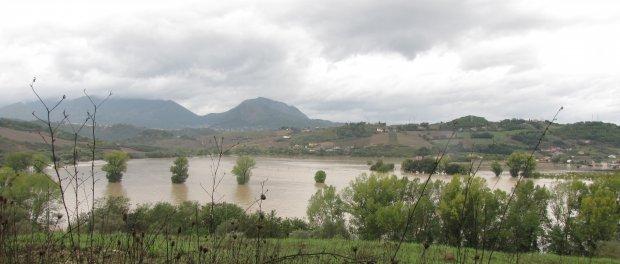 Nubifragio nel Sannio - Pantano