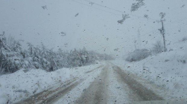 Neve e gelo nel Sannio