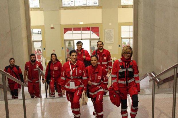 Volontari della Croce Rossa a Congresso