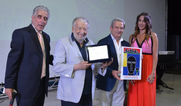 Pupi Avati premiato al Telesia for Peoples 2019