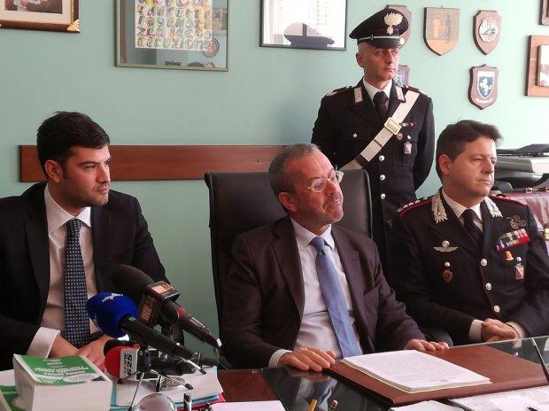 Conferenza stampa - Omicidio Matarazzo