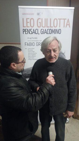 Leo Gullotta intervistato da ilQuaderno.it