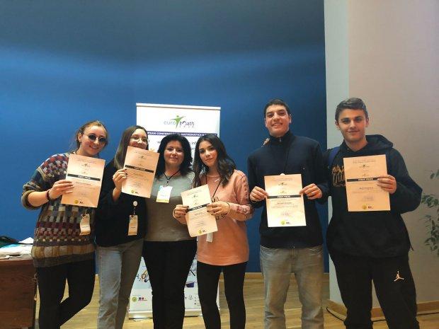 Studenti del Liceo Scientifico Rummmo di Benevento ad Euromath 2018