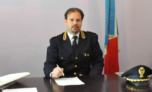 Flavio Tranquillo, dirigente del Commissariato di Pubblica Sicurezza di Telese Terme