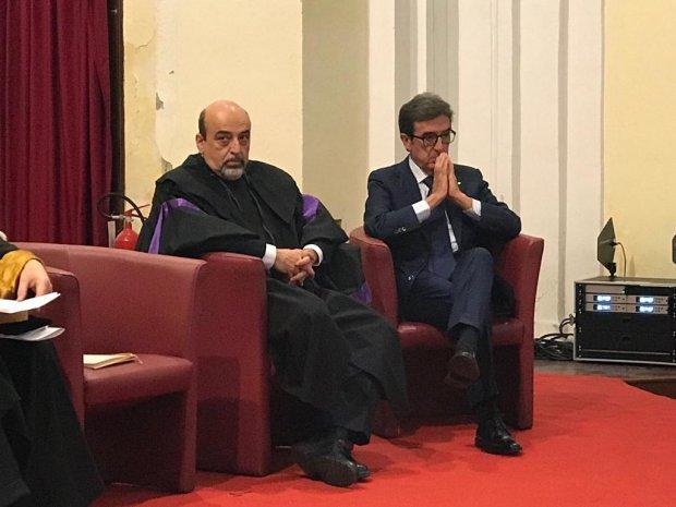 Unisannio. Riccardo Cotarella riceve la Laurea Honoris Causa