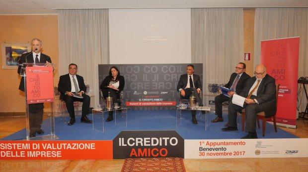 Credito Amico, primo incontro del ciclo.di seminari di Confindustria