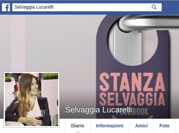 Selvaggia Lucarelli - foto tratta da Facebook