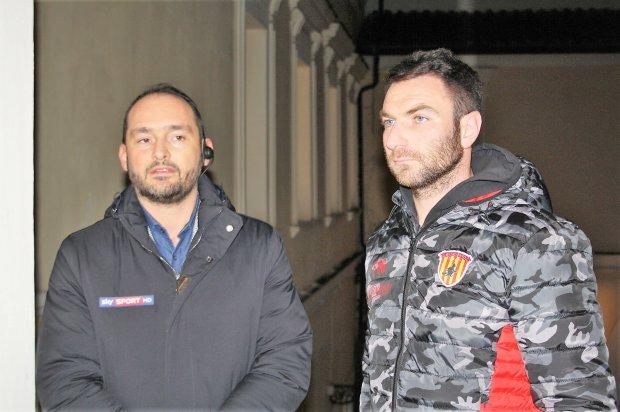 Sky Sport a Benevento per una diretta sul Benevento Calcio
