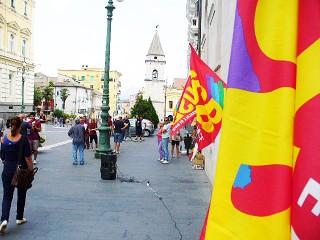 Manifestazione USB Benevento