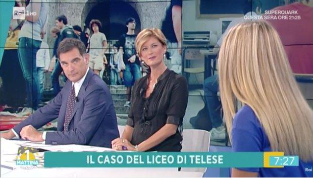 L'Istituto Telesi@ ad Unomattina