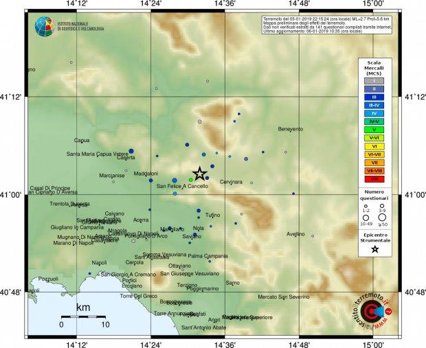 Terremoto Forchia