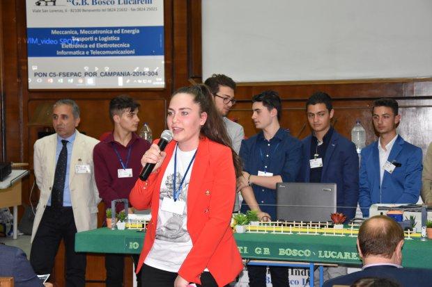 ITI Lucarelli - Presentazione progetto di Alternaza Scuola Lavoro, Io Ti Lego, in collaborazione con Ferrovie Italiane