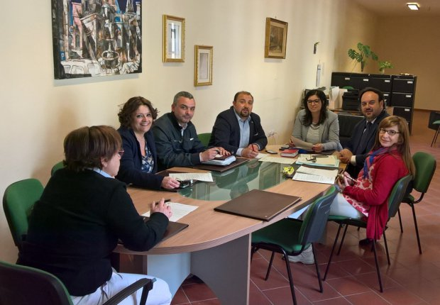 Sant'Agata de' Goti - Conferenza dei capigruppo