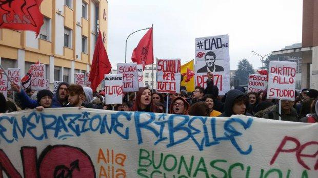 Protesta Studenti 6 dicembre