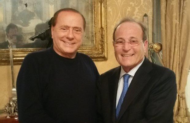 Berlusconi e Mino Izzo