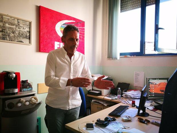 Carlo Ceccarelli della FLAI CGIL di Benevento