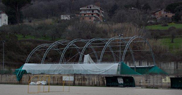 Impianto sportivo San Filippo Neri - Foto: Pasquale Di Cosmo