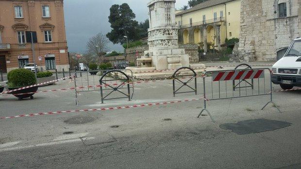 Lavori Piazza Castello