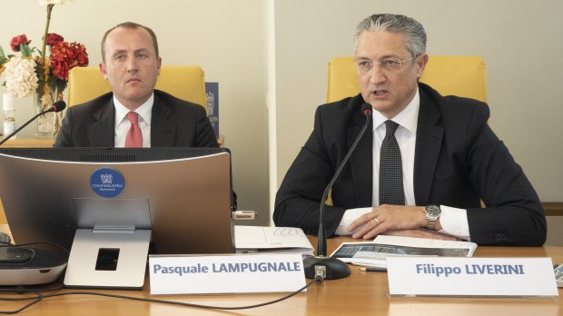Confindustria Benevento. Filippo Liverini e Pasquale Lampugnale