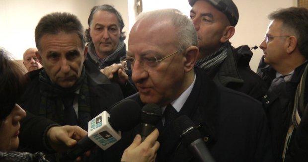 Vincenzo De Luca, governatore della Regione Campania