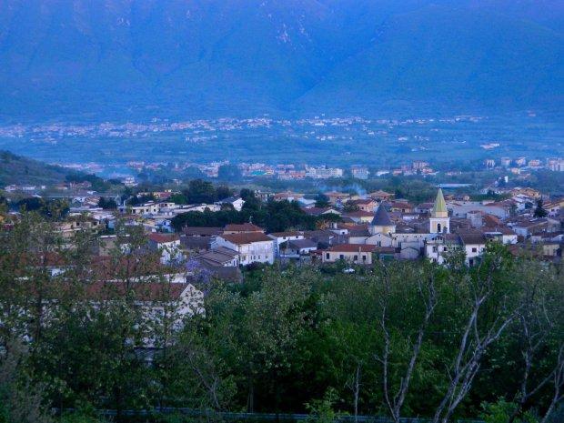 Panorama di San Salvatore Telesino