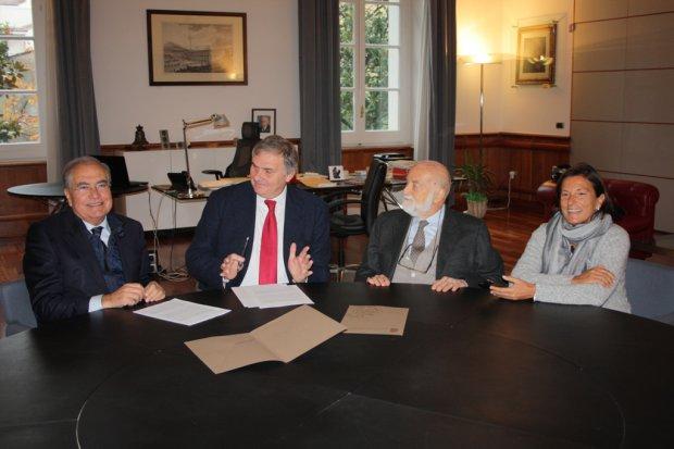 Eugenio Corti dona all'Universita' 1400 volumi tecnico scientifici