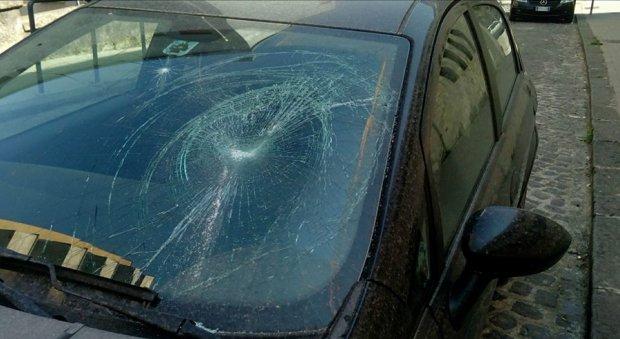 Danneggiata l'auto di Teresa Ferragamo