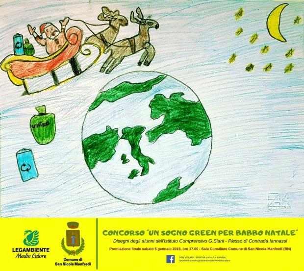 Concorso di Legambiente - Un sogno green per Babbo Natale