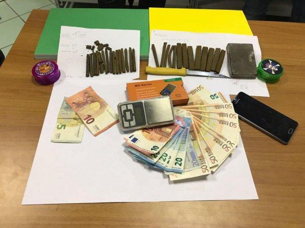 Droga sequestrata Finanza - Lusciano