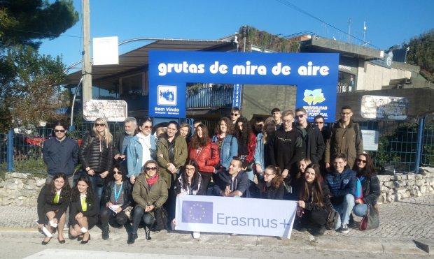 Studenti GBB Lucarelli in Portogallo con Progetto Erasmus