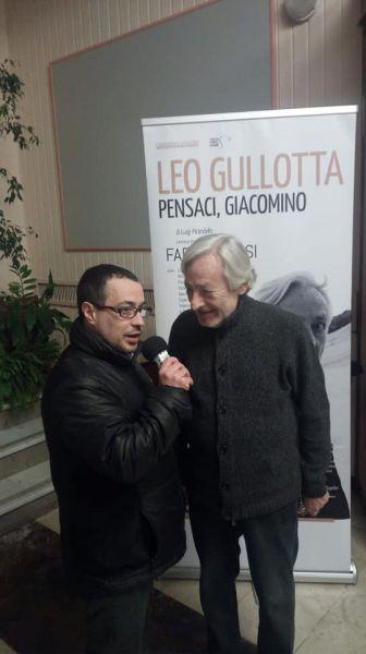 Intervista Leo Gullotta - Claudio Donato