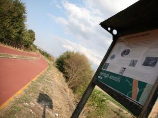 Benevento - La pista ciclopedonale di Contrada Pantano