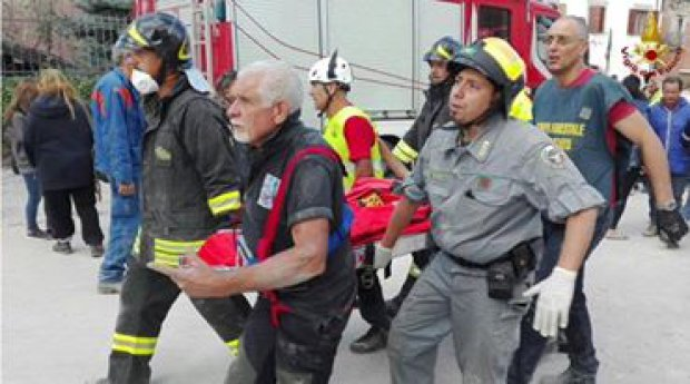 Terremoto - Foto: Vigili del Fuoco