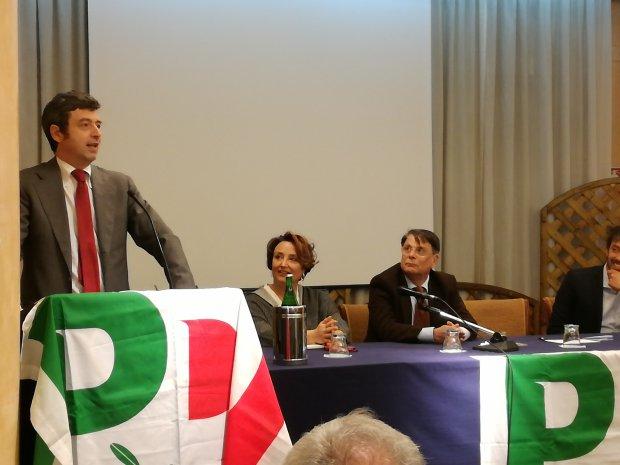 Benevento. Il guardasigilli Andrea Orlando, candidato alla segreteria PD