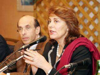 Sandra Lonardo e Fernando Errico