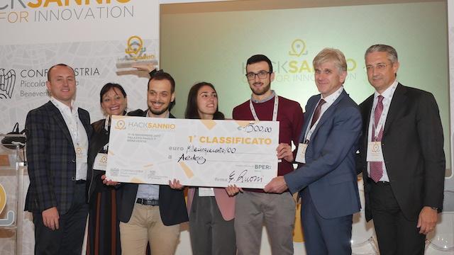 vincitori hacksannio 2017