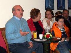 Telese Terme - L'incontro di Giovanni Liverini con le donne