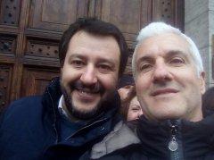 Salvini e D'Agostino