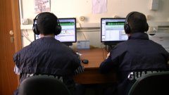 Guardia di Finanza durante le intercettazioni