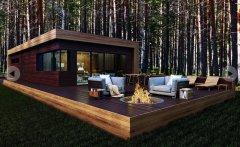 Case prefabbricate, casa in legno