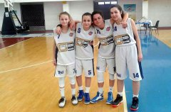 Virtus Benevento under 14 - Arianna Zanchiello, Monica Zanchiello, Mariagiovanna Pasquariello e Giulia Chiumiento