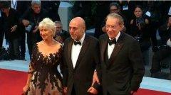Festival di Venezia, Paolo Virzi con Donald Sutherland ed Helen Miller