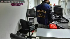 Guardia di Finanza, sequestro videopoker abusivi